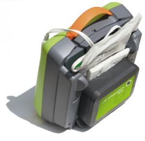 Zoll AED Rückansicht
