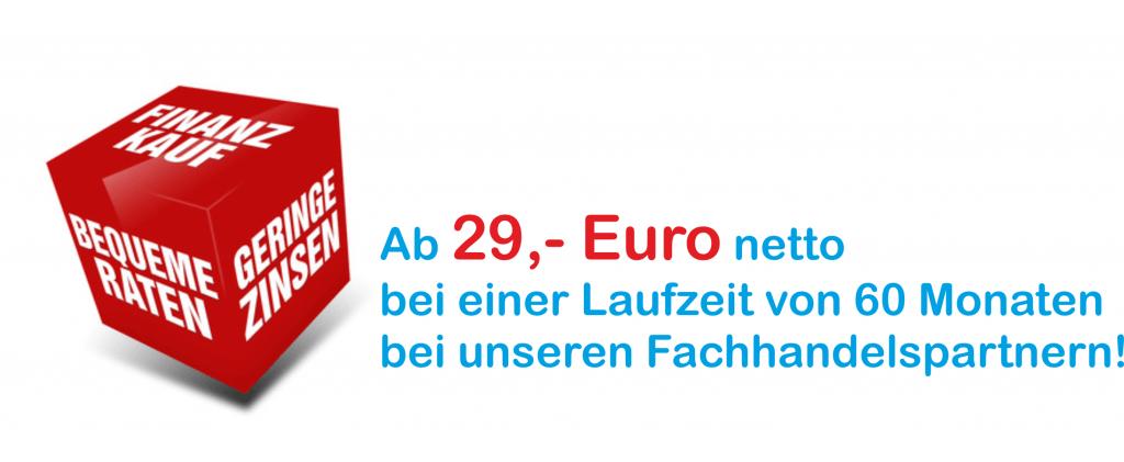 Angebot 60 Monate Laufzeit 29 Euro netto