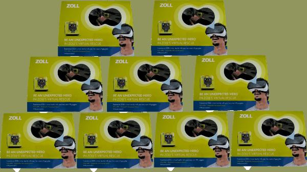 Zoll AED 3 Promo SET - Jetzt gratis!