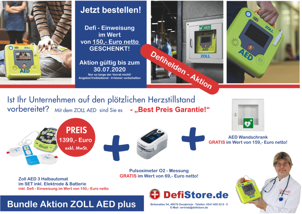 ZOLL AED 3 und ZOLL AED plus 1