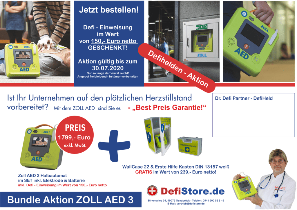 ZOLL AED 3 und ZOLL AED plus 2